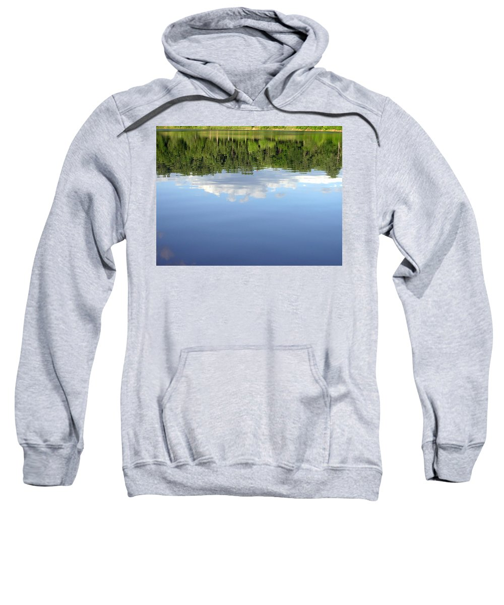 Lake Sweatshirt featuring the photograph 1268-1 by Kimberlie Gerner
