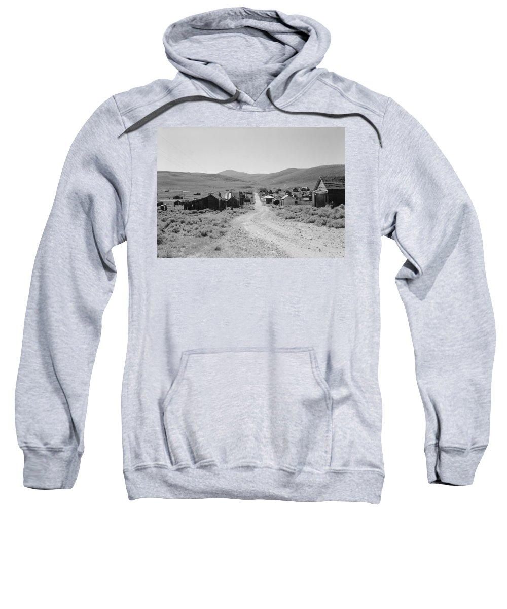 1962 Sweatshirt featuring the photograph California Bodie, 1962 by Granger