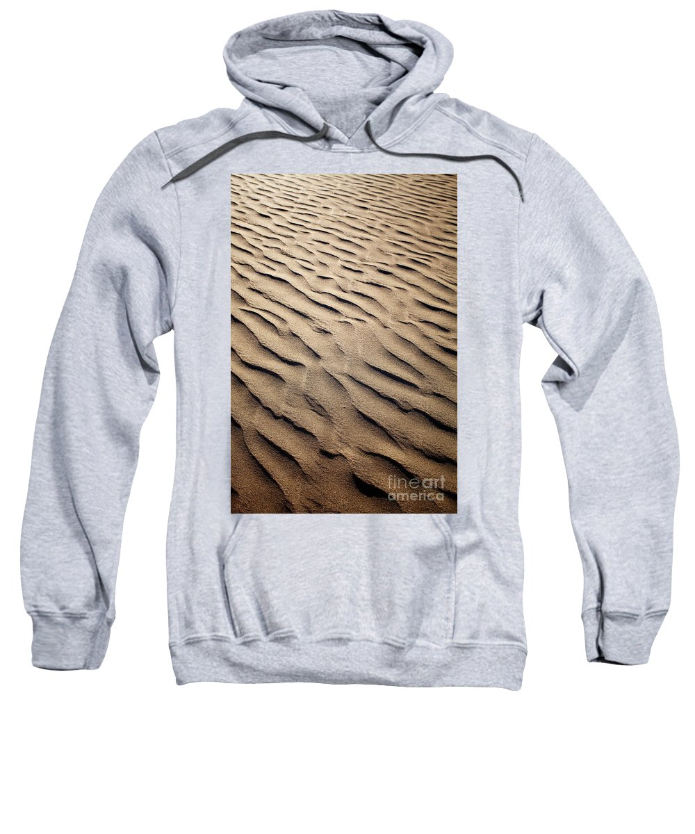 Sand Sweatshirt featuring the photograph Sand Dunes by Kati Finell