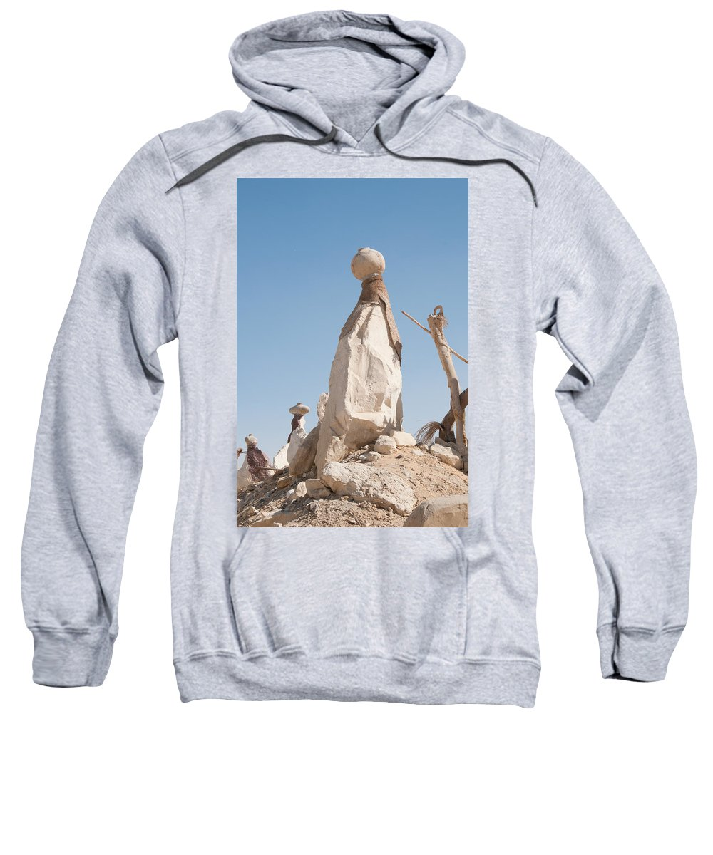 Egypt Sweatshirt featuring the digital art Badr by Carol Ailles