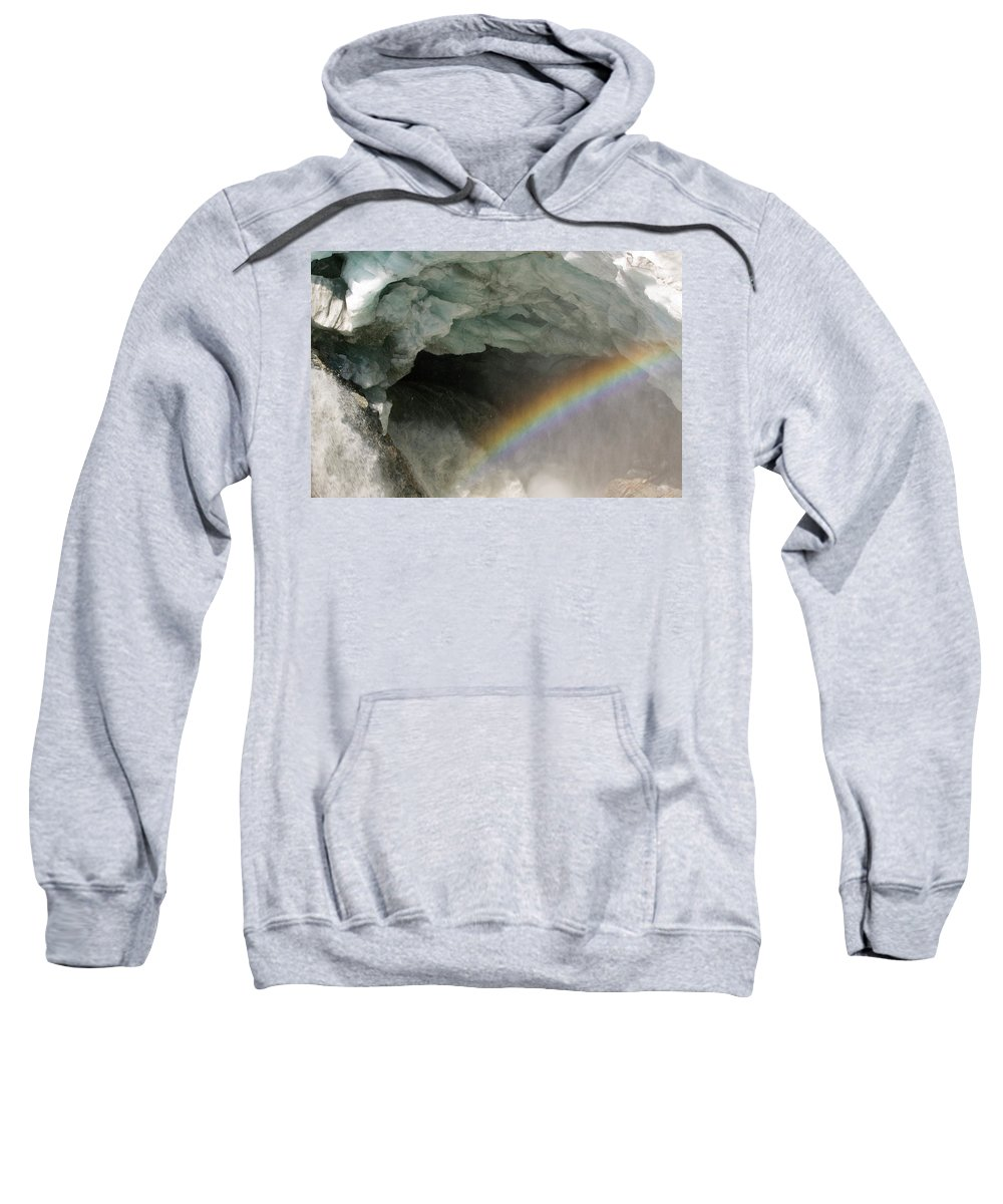 Affect Sweatshirt featuring the photograph Climate Change In Greenland by Ashley Cooper