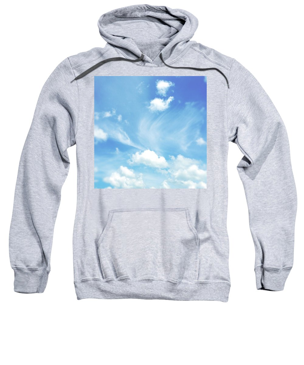 Cloud Sweatshirt featuring the photograph Sky by Les Cunliffe