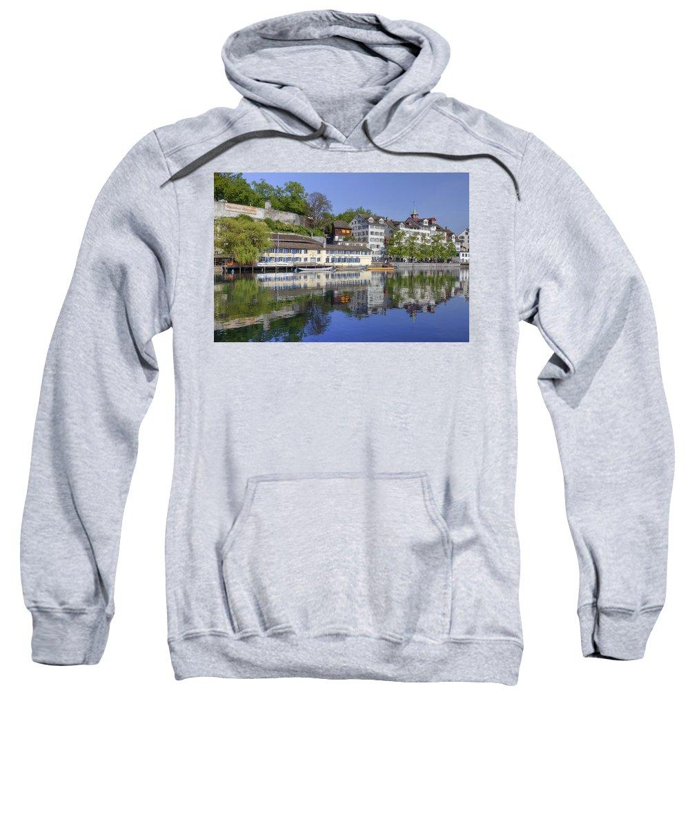 Zuerich Sweatshirt featuring the photograph Zurich by Joana Kruse