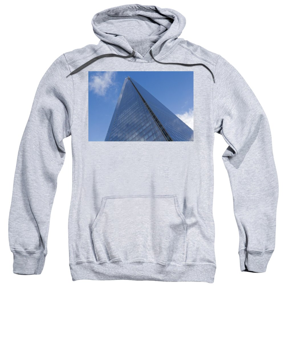 Shard Sweatshirt featuring the photograph The Shard London by David Pyatt