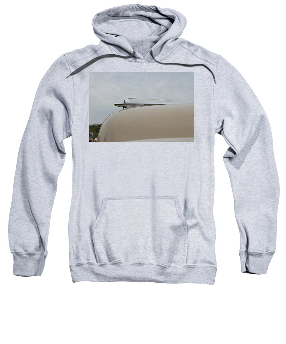 Glenmoor Sweatshirt featuring the photograph 1947 Chevrolet by Jack R Perry