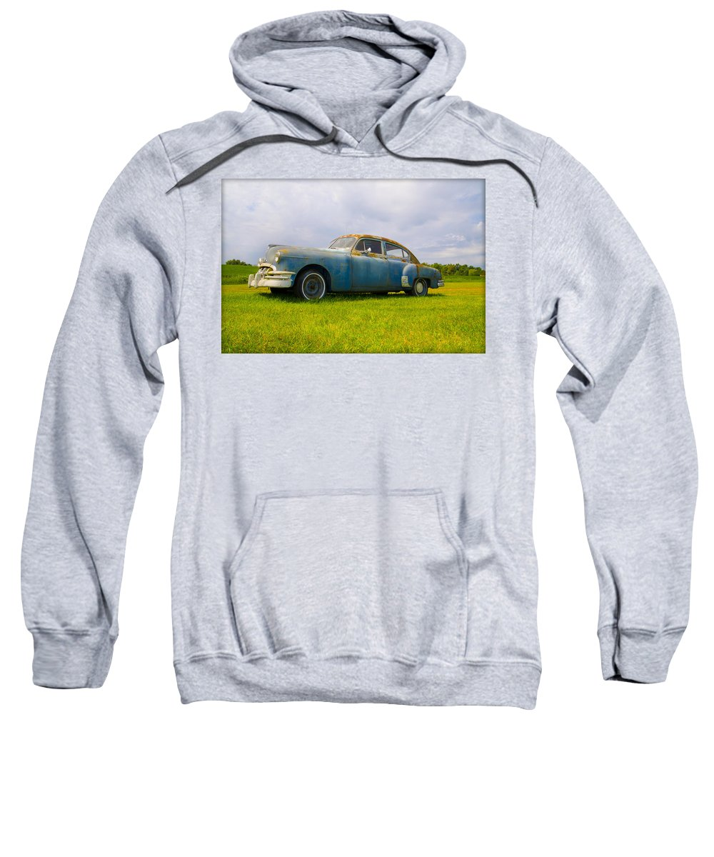 1950 Sweatshirt featuring the photograph 1950 Pontiac Chieftan by Bill Cannon