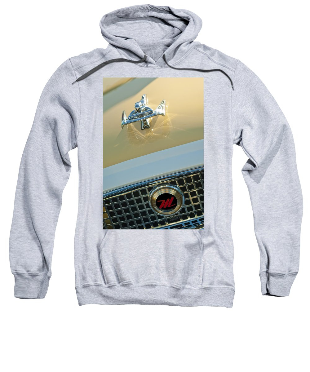 1960 Nash Metropolitan Sweatshirt featuring the photograph 1960 Nash Metropolitan 3 by Jill Reger