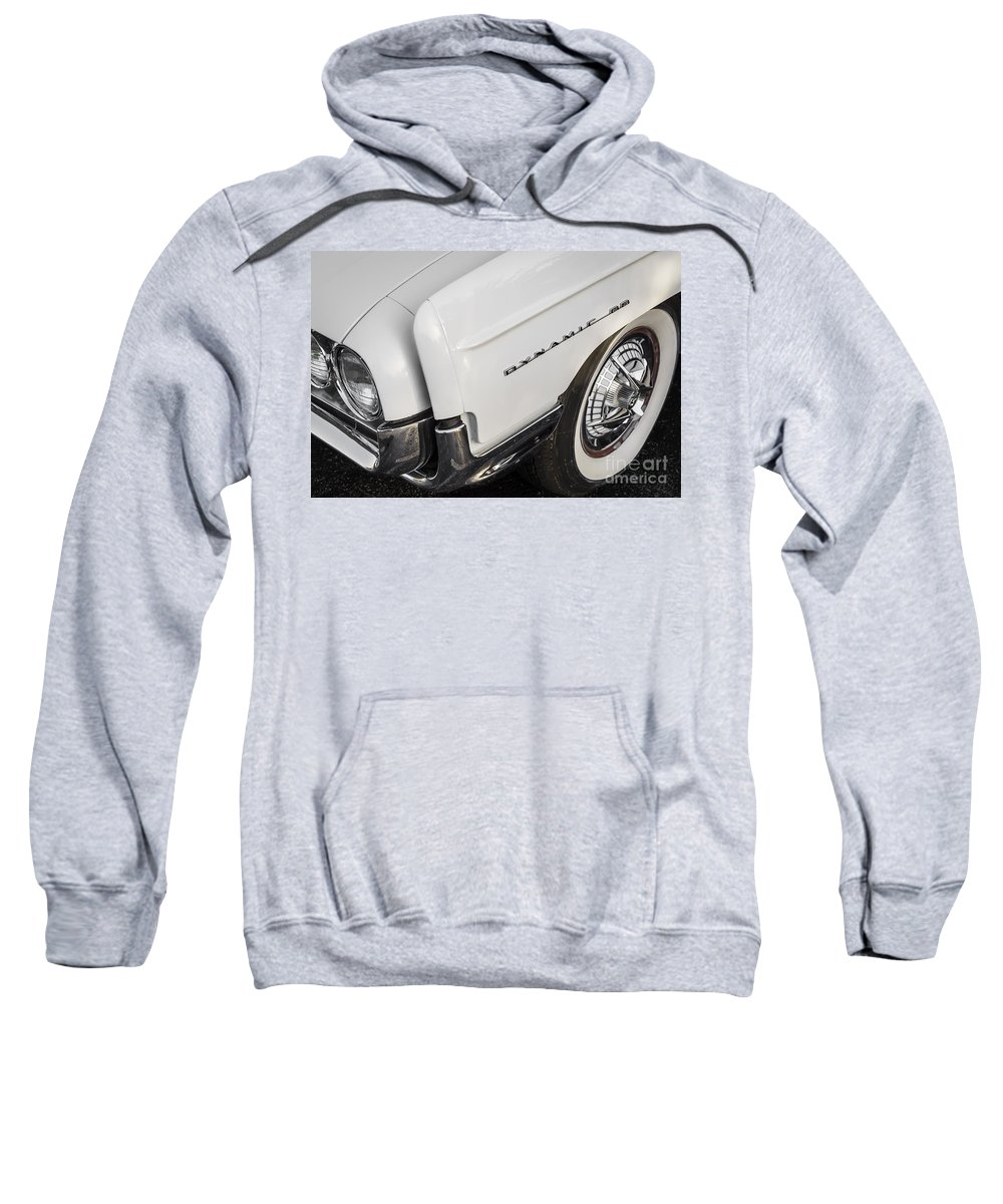 1962 Oldsmobile Dynamic 88 Sweatshirt featuring the photograph 1962 Oldsmobile Dynamic 88 by Dennis Hedberg