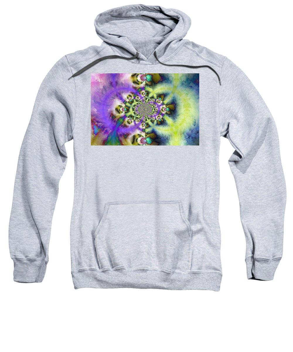 Sweatshirt featuring the digital art 197010 by Studio Pixelskizm