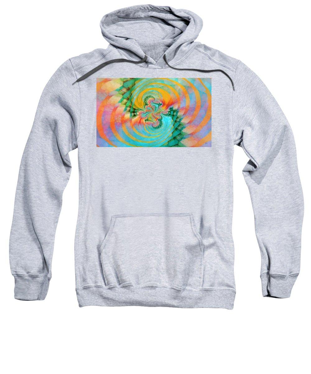 Sweatshirt featuring the digital art 198004 by Studio Pixelskizm