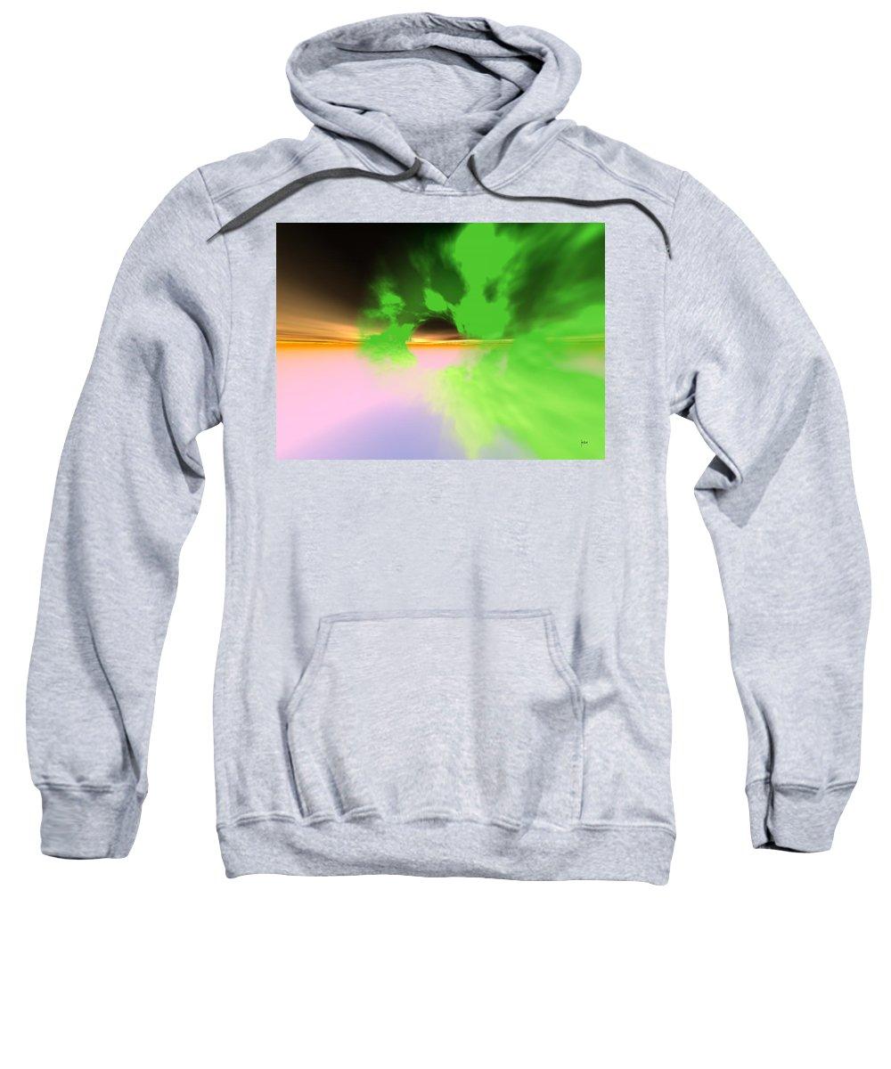 Sweatshirt featuring the digital art 1997042 by Studio Pixelskizm