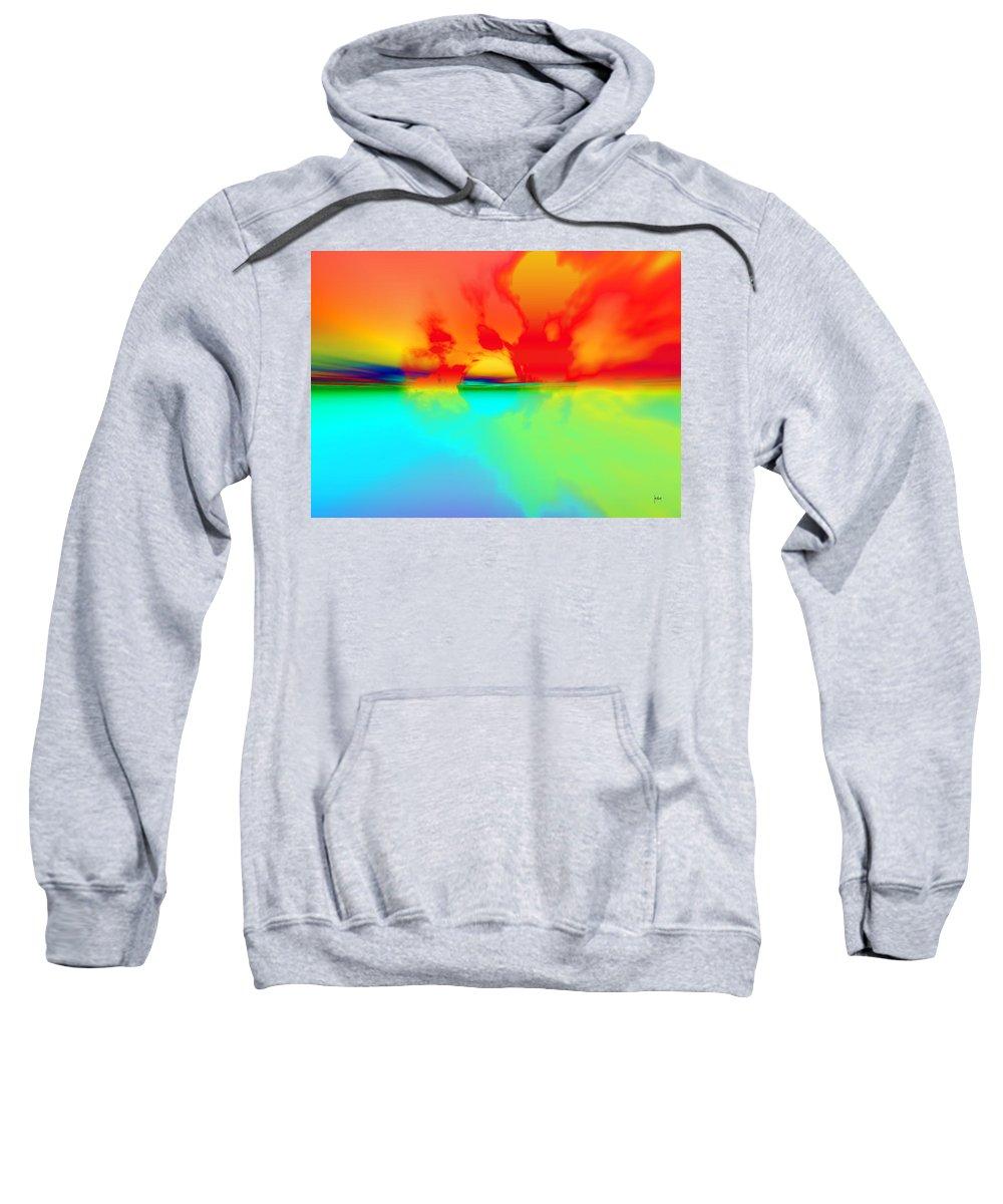 Sweatshirt featuring the digital art 1997043 by Studio Pixelskizm