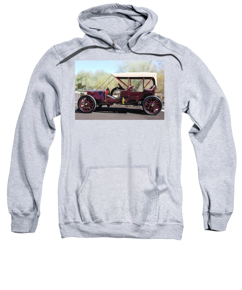 1907 Panhard Et Levassor Sweatshirt featuring the photograph 1907 Panhard Et Levassor by Jill Reger