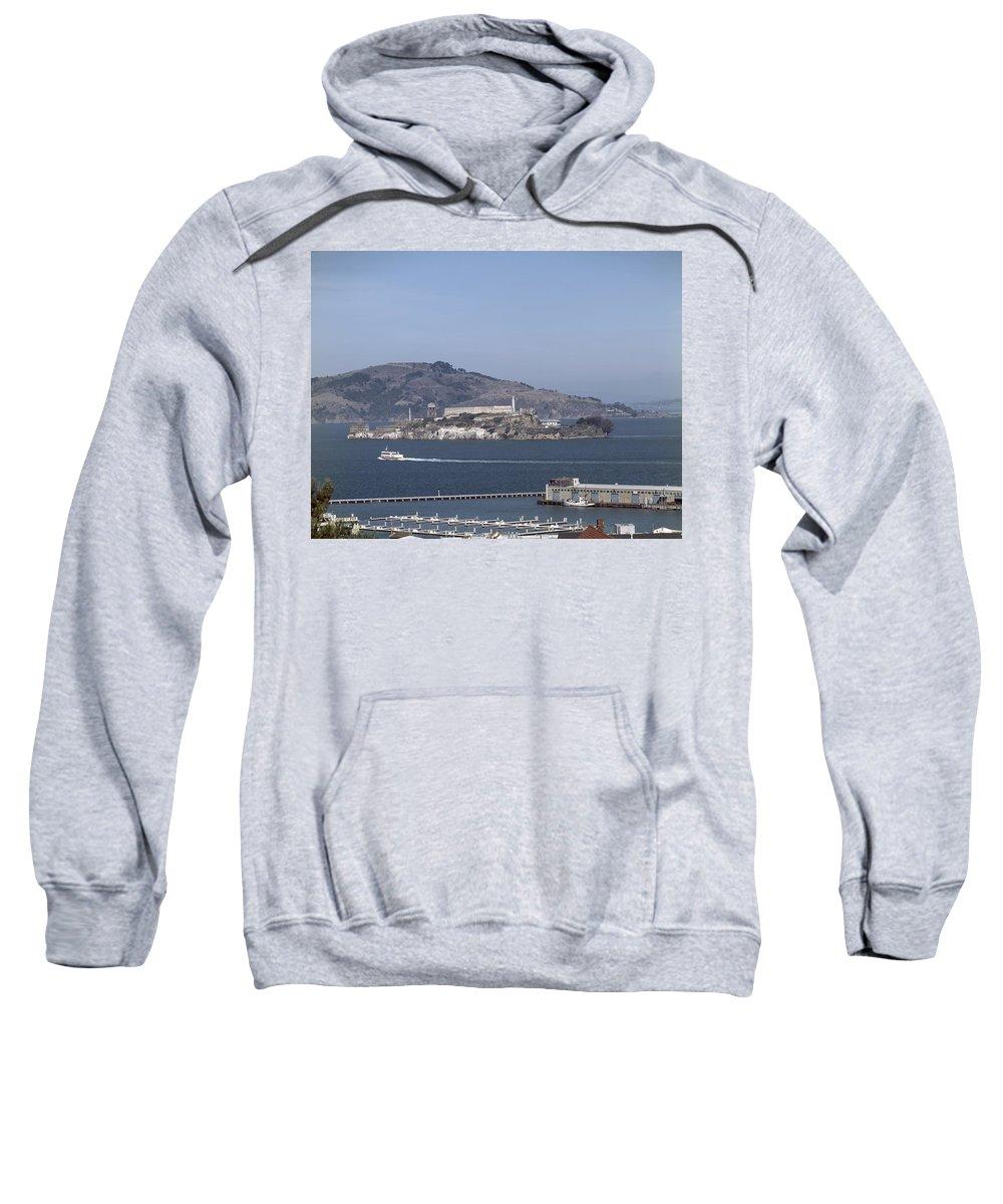1990s Sweatshirt featuring the photograph Alcatraz, C1998 by Granger