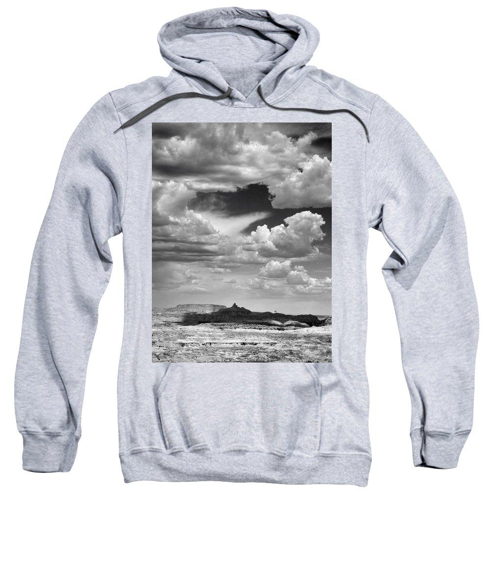Angel Sweatshirt featuring the photograph Angel Peak by Skip Hunt