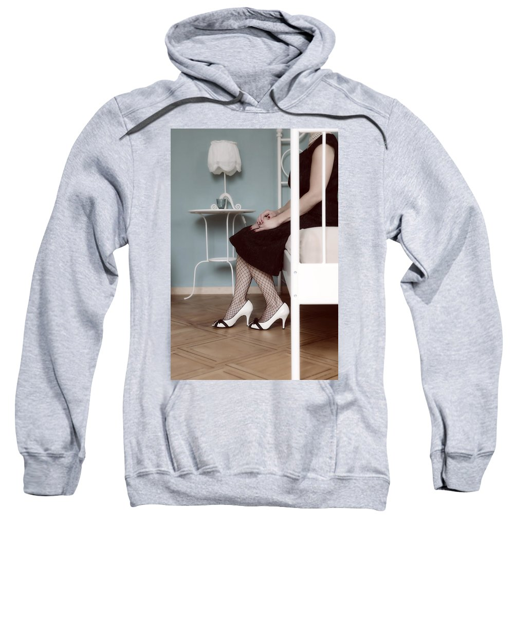 Woman Sweatshirt featuring the photograph Bedroom by Joana Kruse