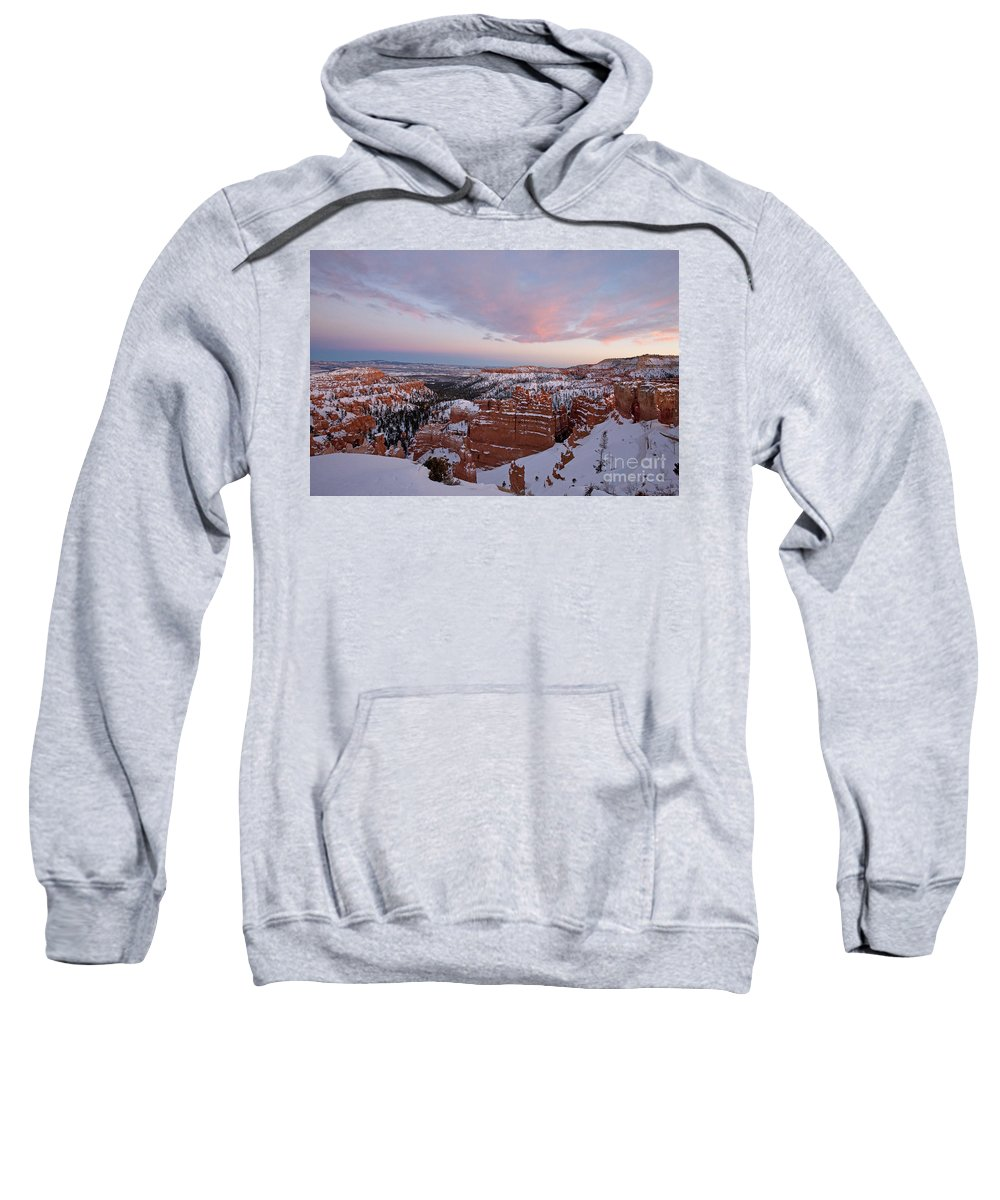 Bryce Canyon Sweatshirt featuring the photograph Bryce Canyon National Park Utah by Jason O Watson