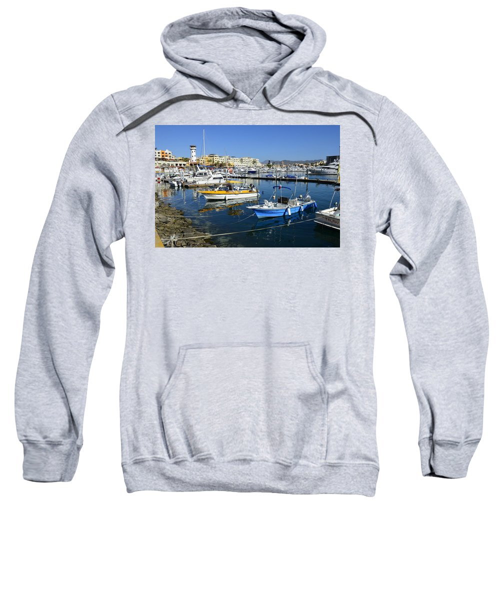 Cabo San Lucas Sweatshirt featuring the photograph Cabo San Lucas by Yinguo Huang