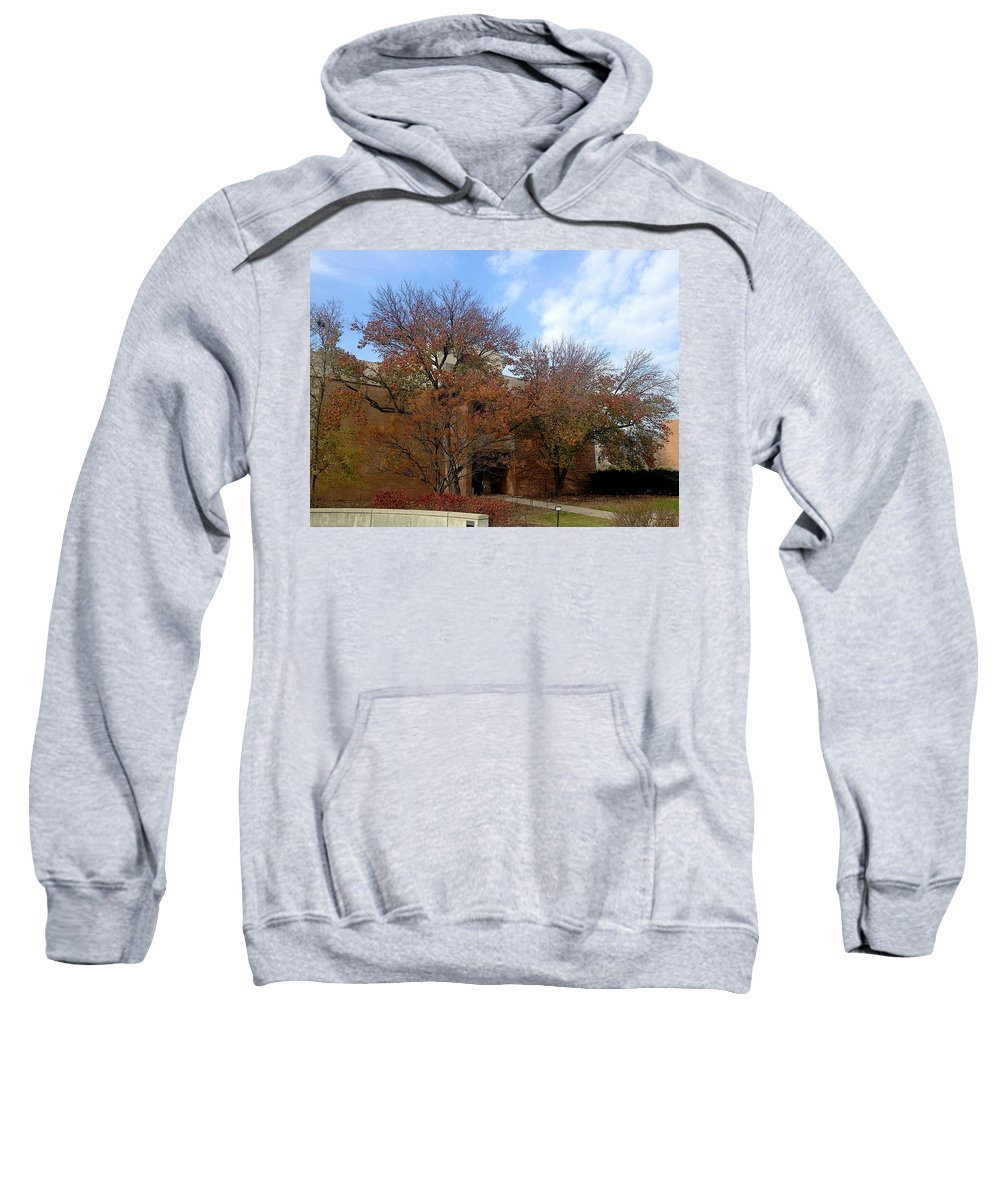 Entrance Sweatshirt featuring the photograph Entrance by Joseph Yarbrough