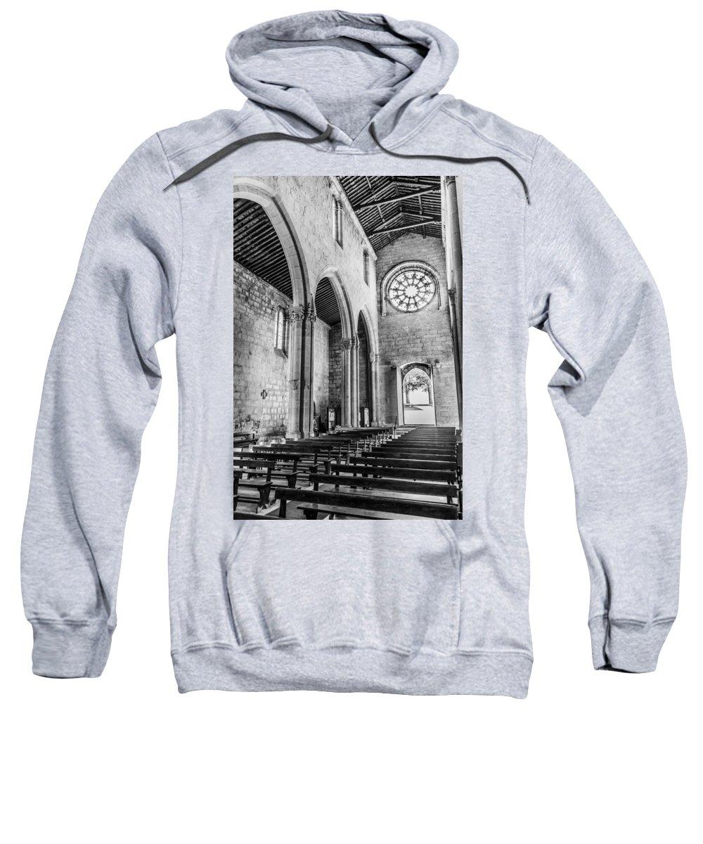 Door Sweatshirt featuring the photograph Gothic Monastery by Ernesto Santos