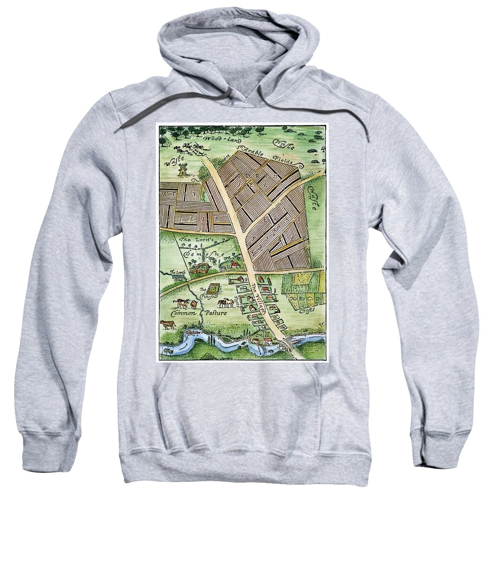 England Sweatshirt featuring the photograph Medieval English Manor by Granger