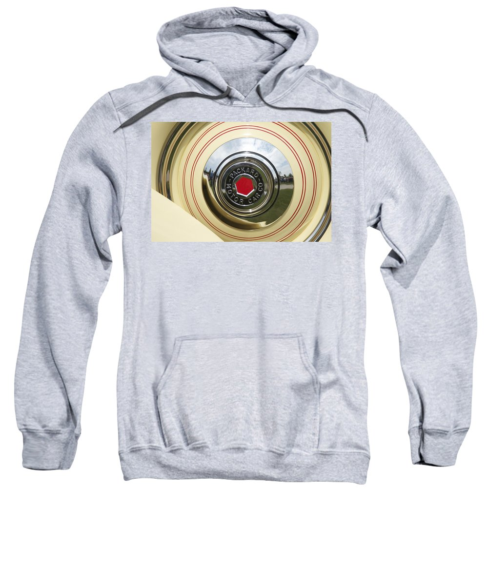 Antique Sweatshirt featuring the photograph Packard 1936-37 by Jack R Perry