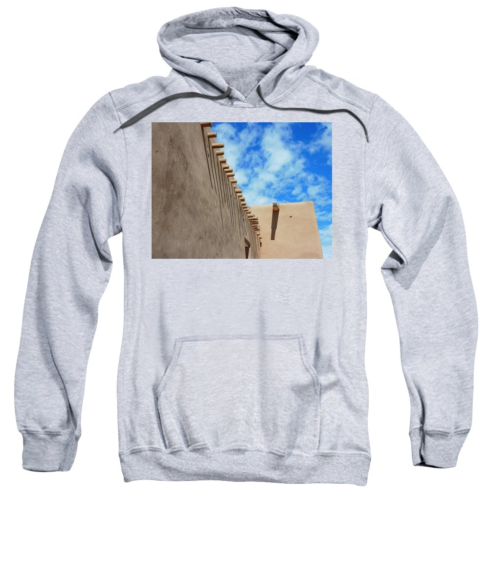 San Francisco De Asis Sweatshirt featuring the photograph San Francisco De Asis Mission Church by Gia Marie Houck