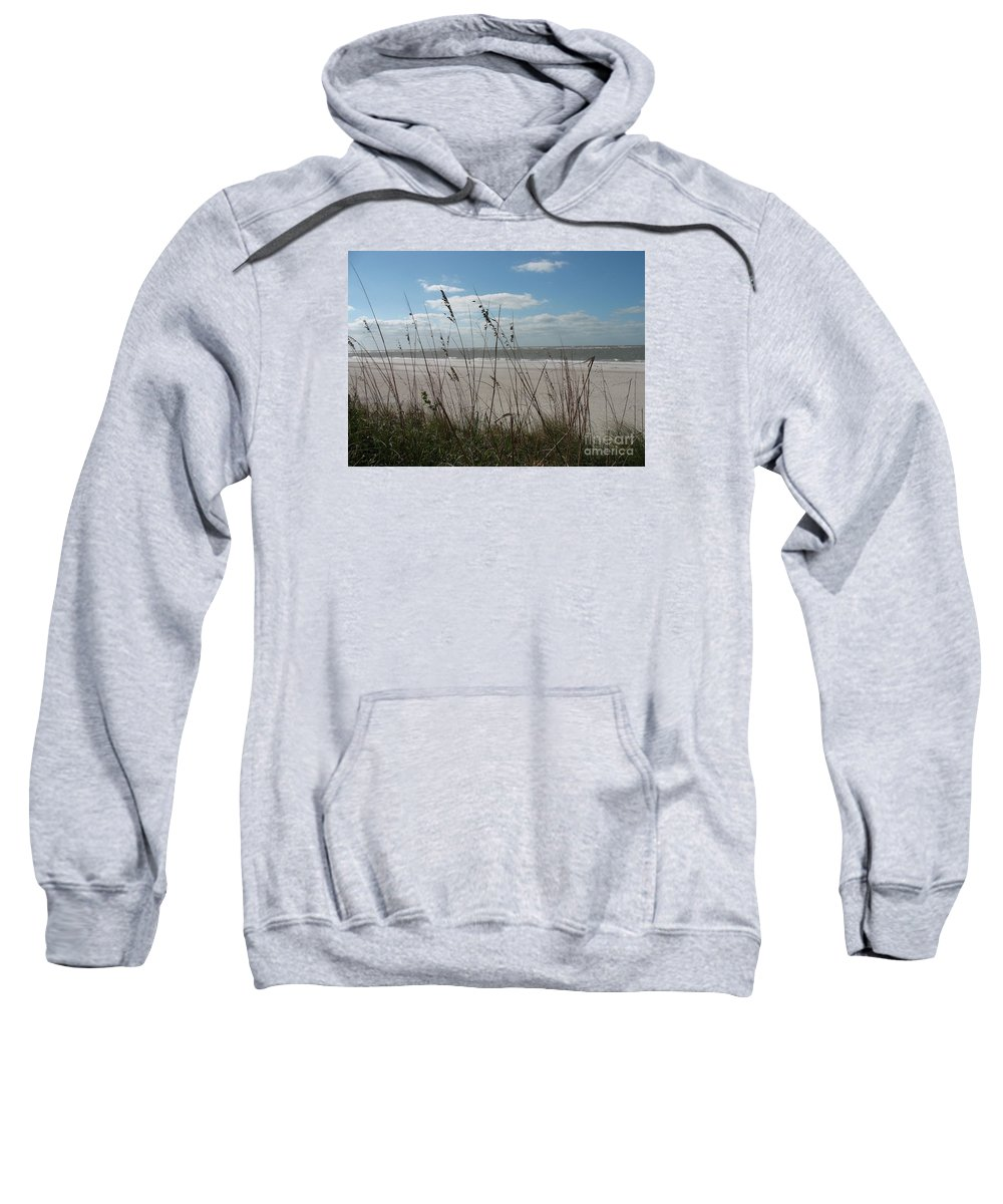 Seaside Sweatshirt featuring the photograph Seaside by Christiane Schulze Art And Photography