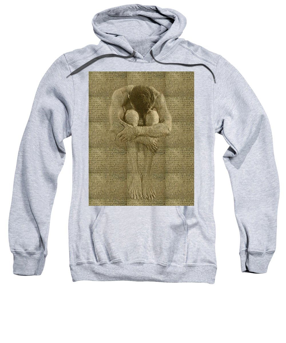Nudes Sweatshirt featuring the photograph The Artist by Kurt Van Wagner