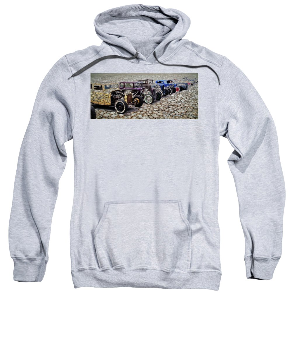 Rust Sweatshirt featuring the photograph The Old Ones by Steve McKinzie