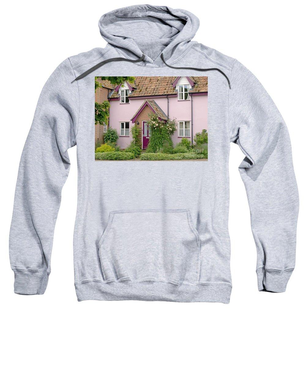 House Sweatshirt featuring the photograph Village Charm by Ann Horn