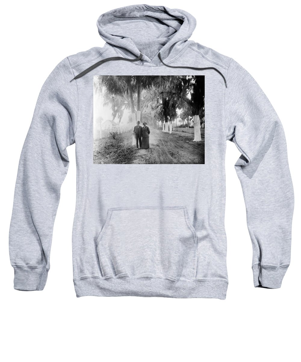 1910s Sweatshirt featuring the photograph Booker T by Granger