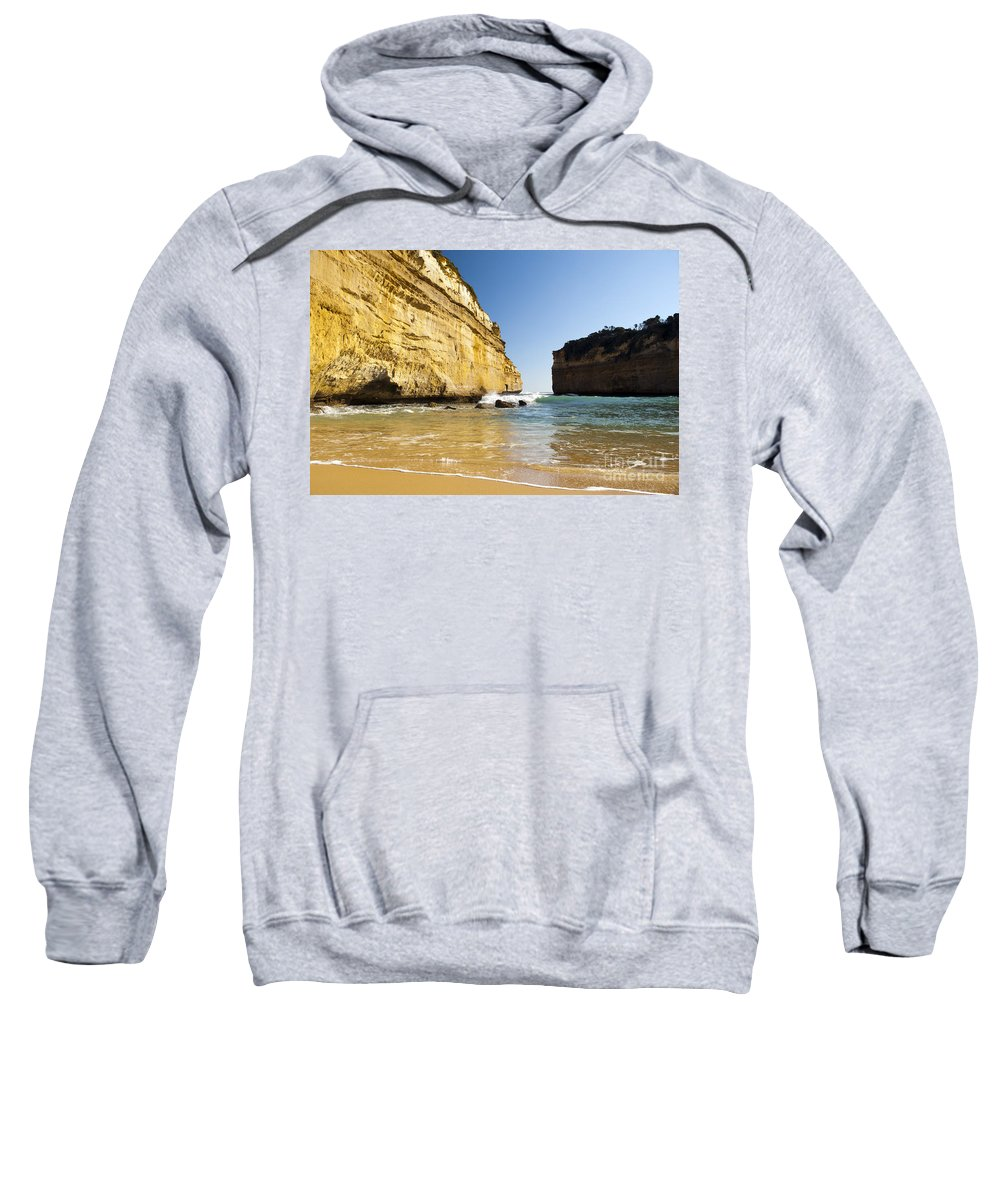 Australia Sweatshirt featuring the photograph Loch Ard Gorge by Tim Hester