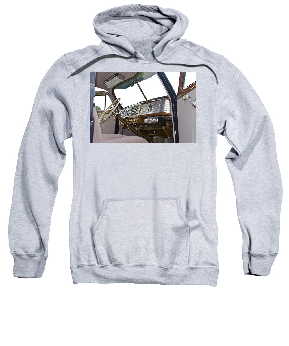 Antique Sweatshirt featuring the photograph Nash by Jack R Perry