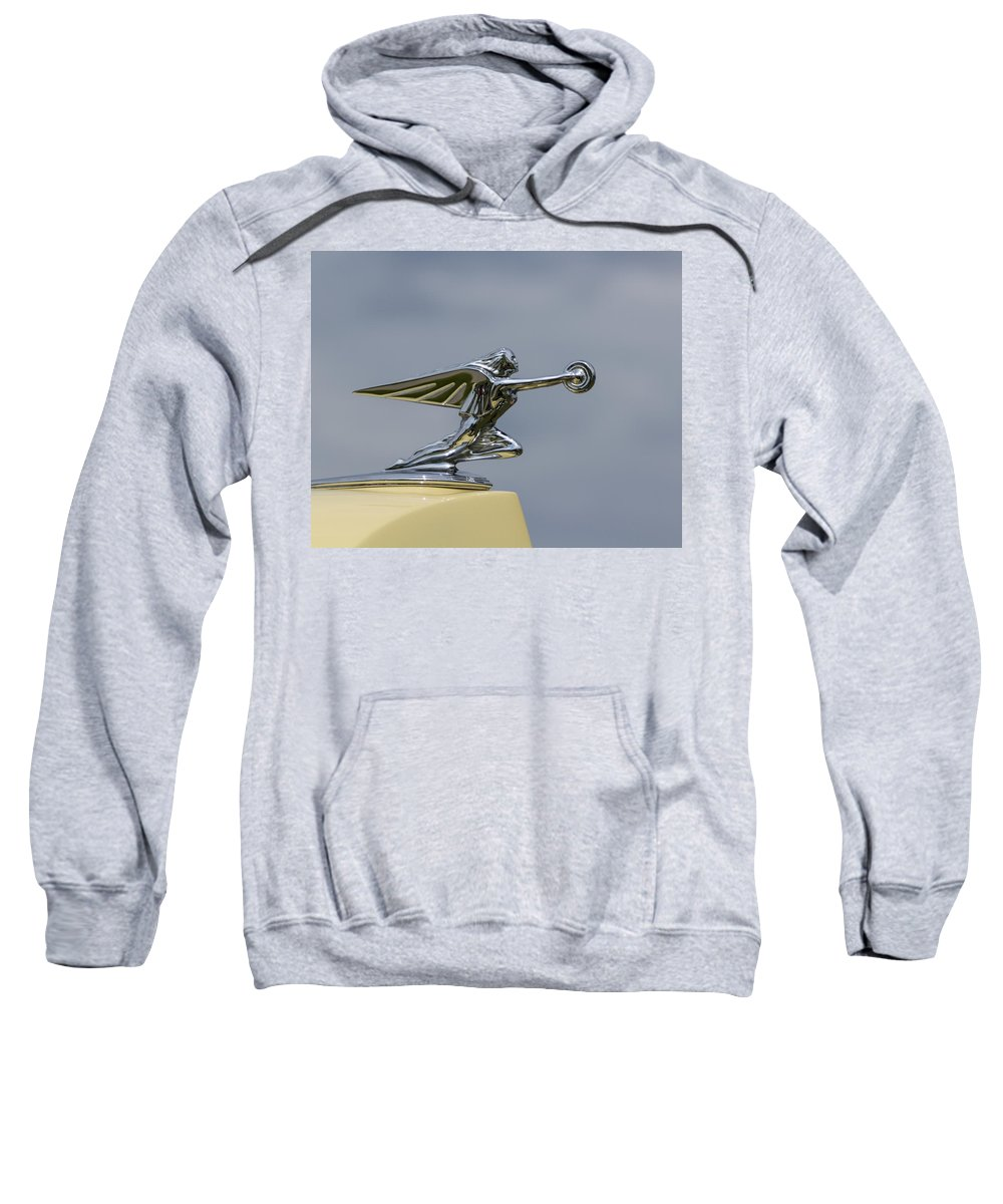 Goddess Sweatshirt featuring the photograph Packard 1936-37 by Jack R Perry