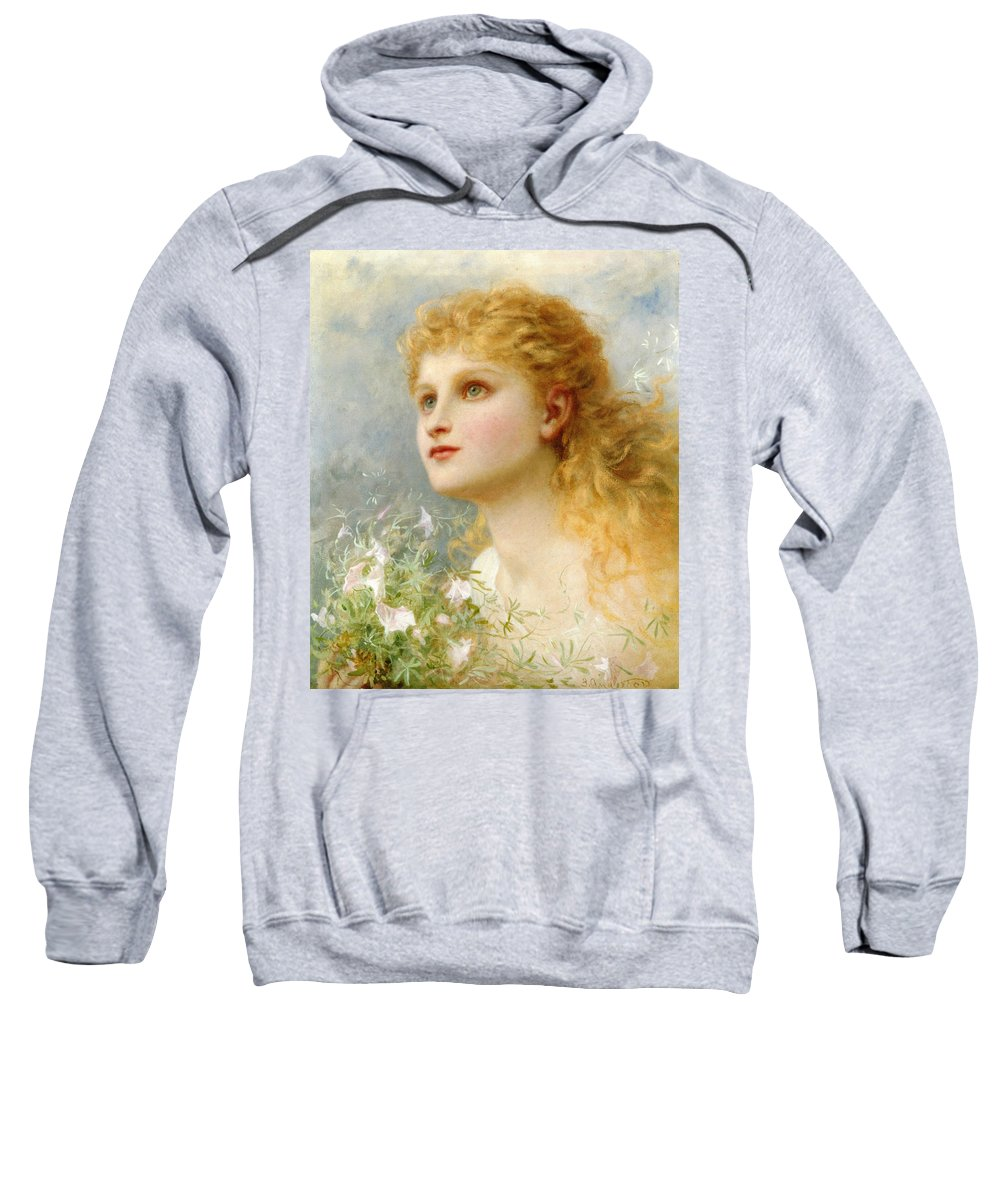 Sophie G Anderson Sweatshirt featuring the photograph Heavenwards by Sophie G Anderson