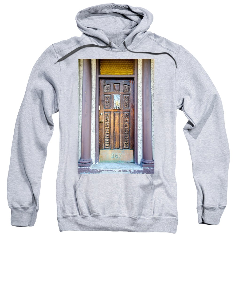 Guy Whiteley Photography Sweatshirt featuring the photograph 367 Delaware by Guy Whiteley
