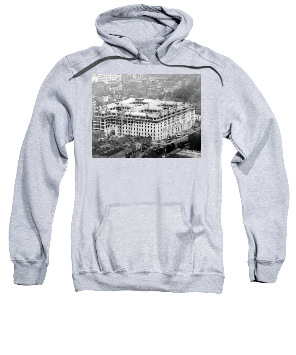 1930 Sweatshirt featuring the photograph D by Granger