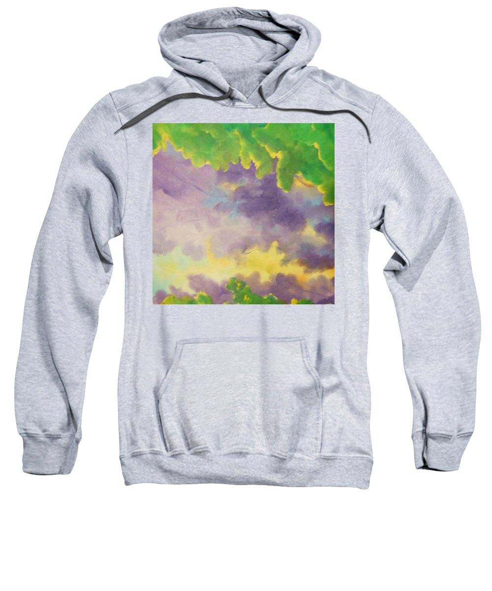 Abstract Sweatshirt featuring the painting Art By Lyle by Lord Frederick Lyle Morris - Disabled Veteran
