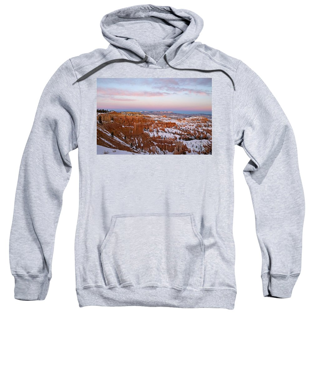 Bryce Canyon Sweatshirt featuring the photograph Bryce Canyon National Park Utah by Jason O Watson
