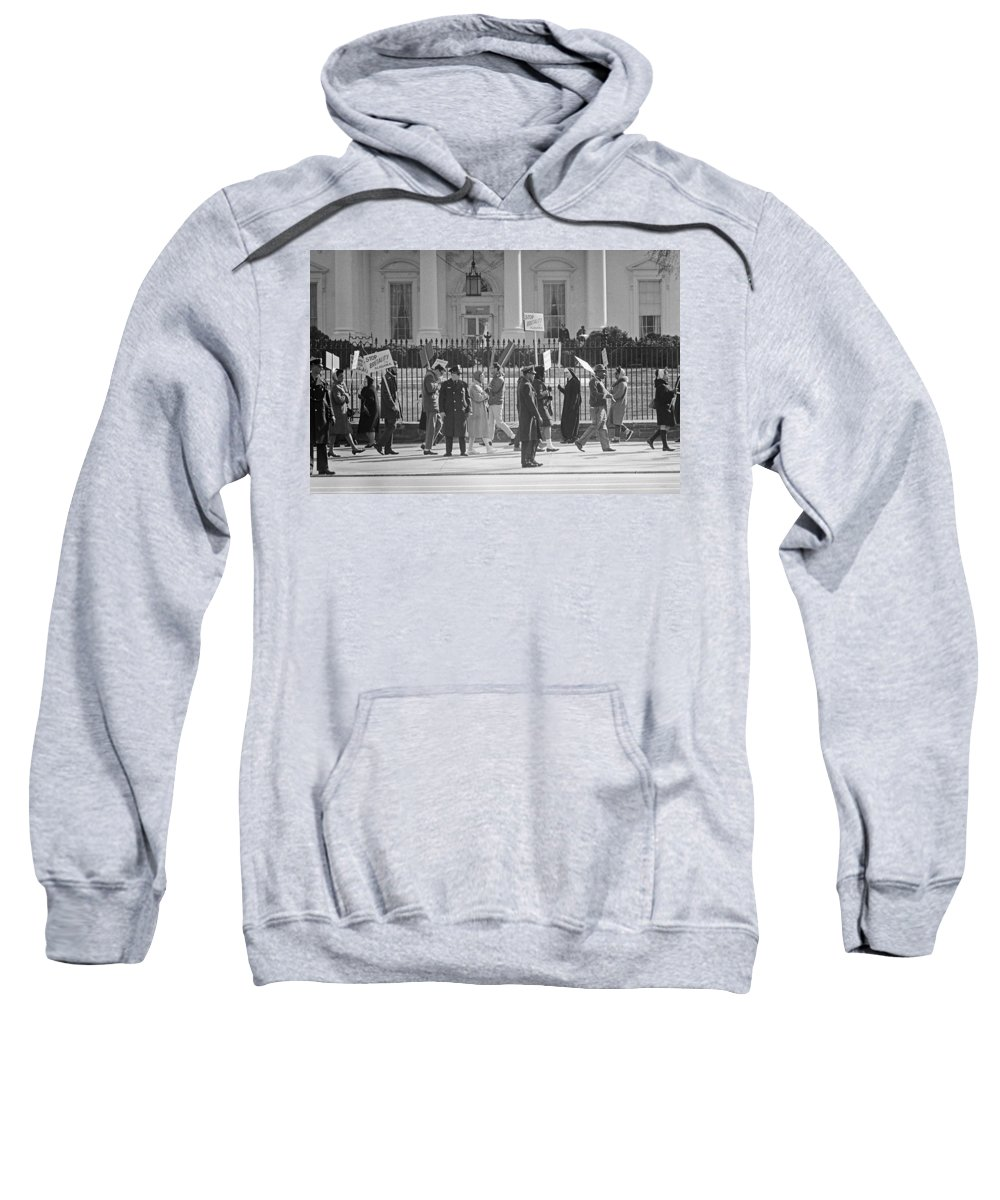 1965 Sweatshirt featuring the photograph Civil Rights Protest, 1965 by Granger