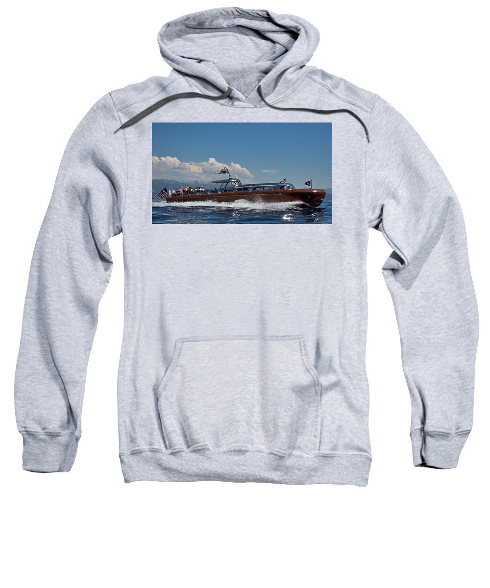 Thunderbird Sweatshirt featuring the photograph Thunderbird by Steven Lapkin