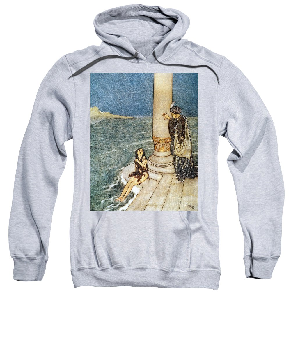 1911 Sweatshirt featuring the photograph Andersen: Little Mermaid by Granger