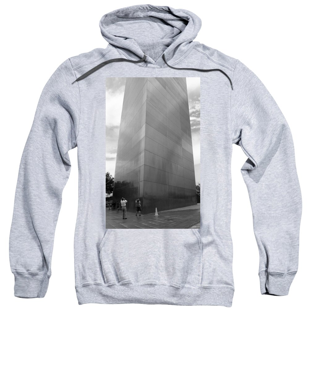 66 Sweatshirt featuring the photograph St. Louis - Gateway Arch by Frank Romeo