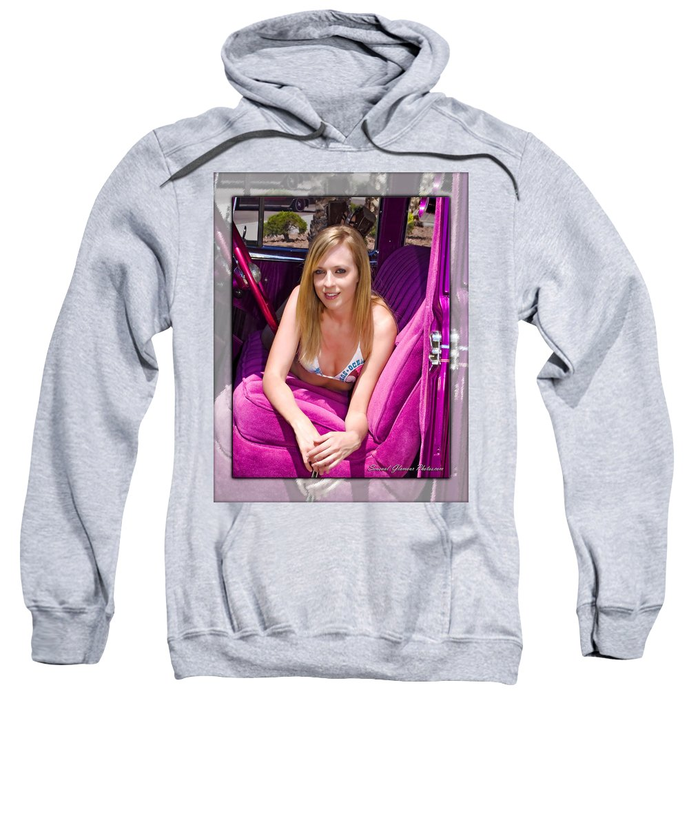Lowrider Sweatshirt featuring the photograph Lowrider by Walter Herrit