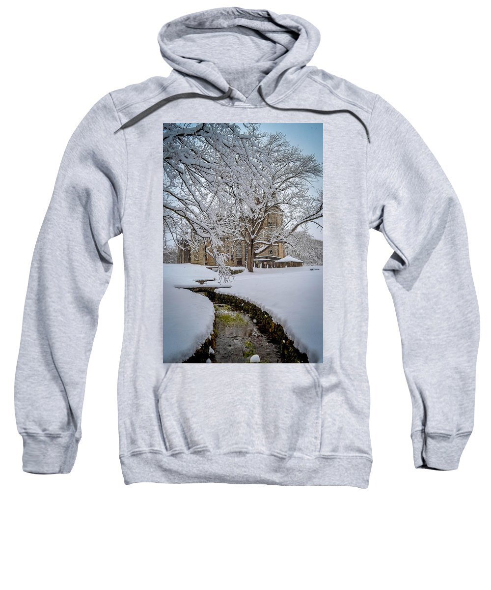 Fonthill Castle Sweatshirt featuring the photograph Fonthill Castle by Michael Brooks