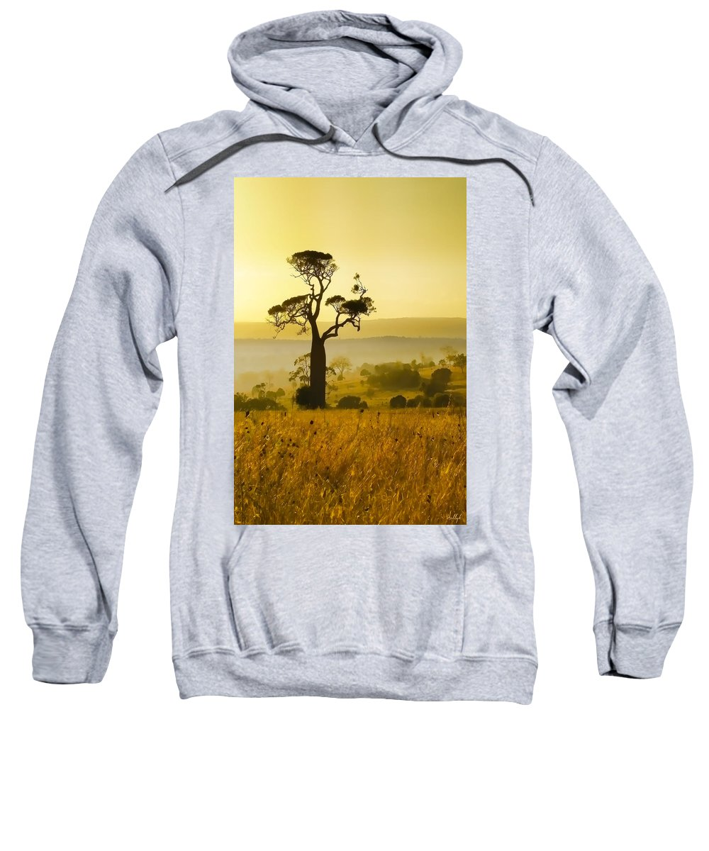 Landscapes Sweatshirt featuring the photograph A Boab Sunrise by Holly Kempe