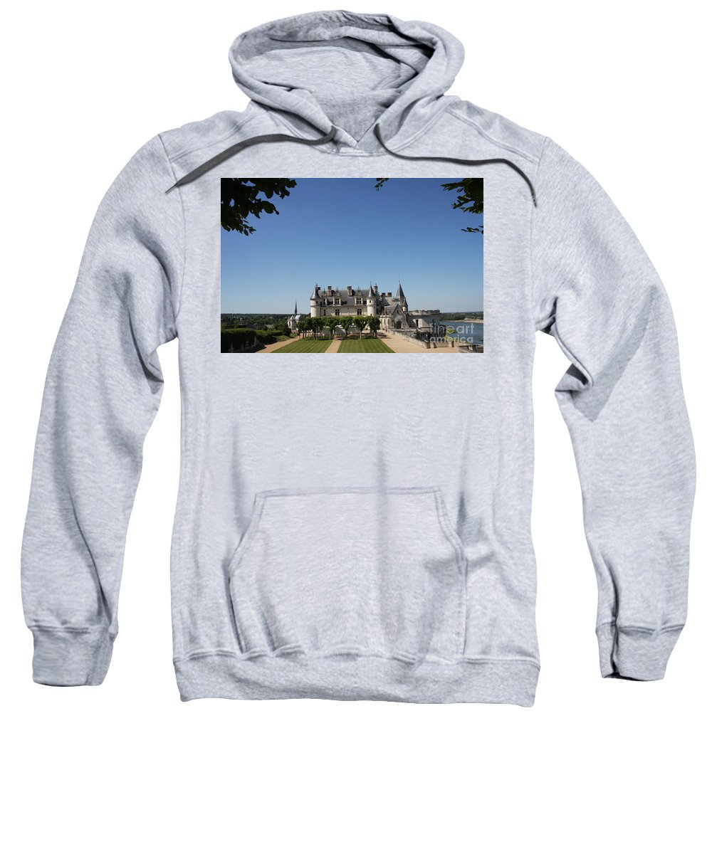 Castle Sweatshirt featuring the photograph A Chateau Like From A Fairy Taile by Christiane Schulze Art And Photography