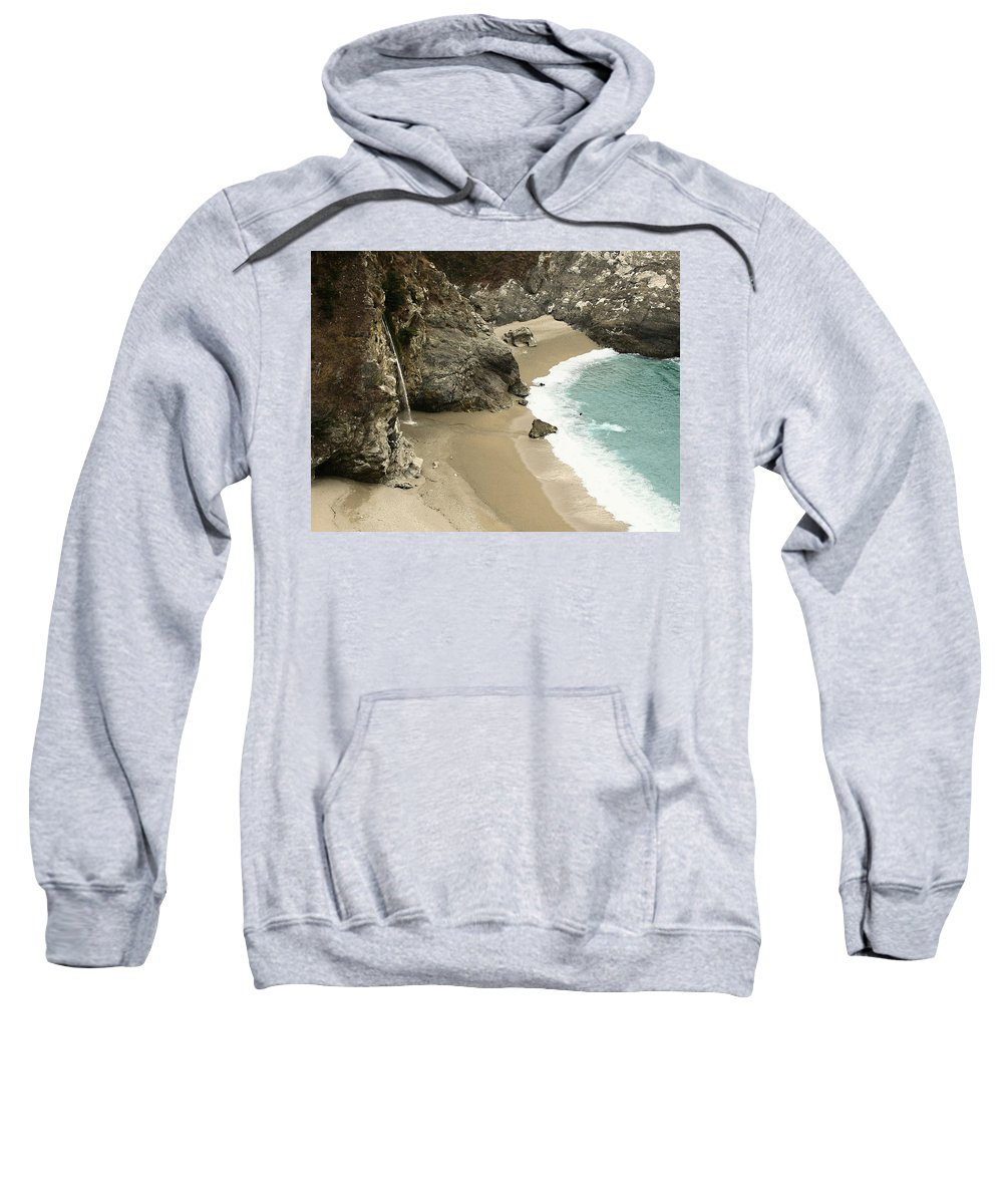 A Secret Place Sweatshirt featuring the photograph A Secret Place by Ellen Henneke