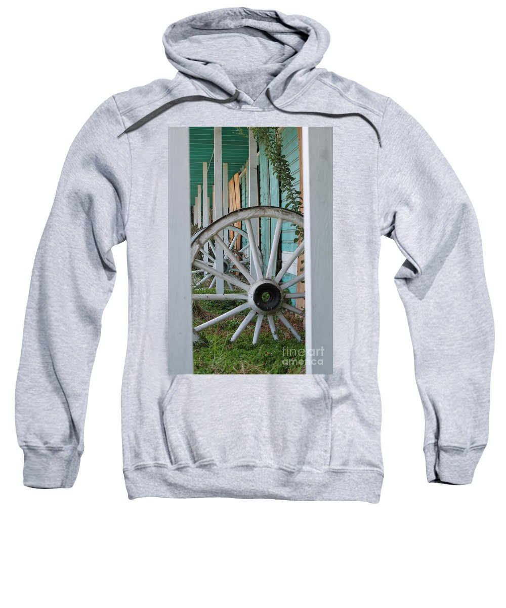Architectural Sweatshirt featuring the photograph Abandoned by Henrik Lehnerer